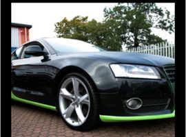 Audi A5, 2008 (57) Black Coupe, Cvt Diesel, 190,000 miles