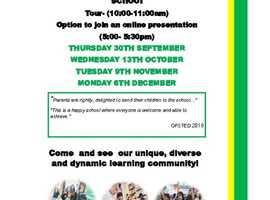 OPEN DAY - HAWKEDON PRIMARY SCHOOL 30th Sept, 13th Oct, 9th Nov, 6th Dec