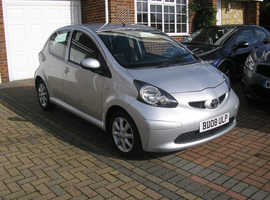 (2008) TOYOTA AYGO PLATINUM 1.0 MET/SILVER 5 DOOR 5 SPEED (ONE OWNER FROM NEW 78000 MILES FSH ABSOLUTELY IMMACULATE CONDITION)