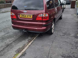 Ford Galaxy, 2005 (54) Red MPV, Automatic Diesel, 152,000 miles