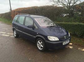 Vauxhall Zafira 1.8 16v comfort 7 seater