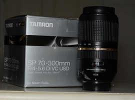 Tamron 70-300mm F4-5.6 Di VC USD, Nikon fit