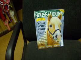 HORSE & HOUND MAGAZINES  - FREE