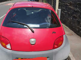 Ford Ka, 2005 (55) Red Hatchback, Manual Petrol, 3,700 miles