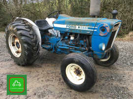 FORD 3600 ALL WORKS GREAT LOOKING VINTAGE TRACTOR P/STEERING