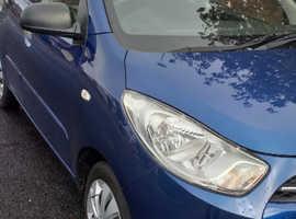 Hyundai i10, 2013 (13) Blue Hatchback, Manual Petrol, 33,000 miles