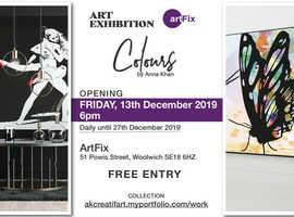 ArtFix Gallery presents Colours