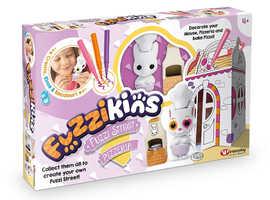 PIZZERIA FUZZI STREET - COLOUR, WASH & PLAY CUTE FUZZY PETS!
