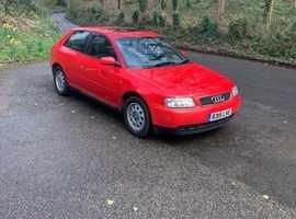 Audi A3, 1997 (P), Manual Petrol, 117,000 miles
