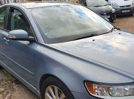 Volvo S40/V50 SERIES, 2008 (58) Blue Saloon, Manual Diesel, 118,795 miles