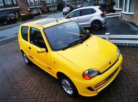 Fiat Seicento, 1999 (V) Yellow, 57,000 miles, 12 months mot