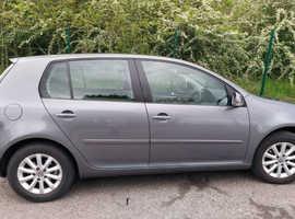Volkswagen Golf, 2007 (57) Grey Hatchback, Manual Petrol, 86,680 miles