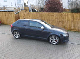 Audi A3, 2009 (59) Black Hatchback, Manual Diesel, 136,000 miles