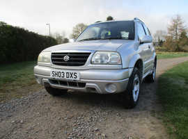 Suzuki Grand Vitara, 2003 (03) Silver Estate, Manual Petrol, 50,940 miles