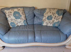A two seater sofa