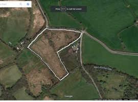 6.5 acres of level farmland near Carmarthen