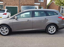 Ford Focus 2ltr tdci 140 , 2013 (63) luna sky Estate, Manual Diesel, 37,400 miles