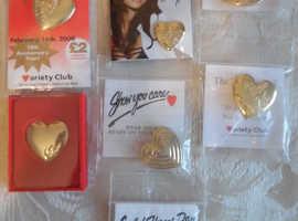 Gold hearts 10th year anniversary , elisha Dixon etc