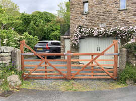 Wooden Gates made & fitted in Lancaster, Morecambe, Kendal, & surrounding areas.