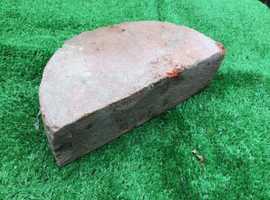 Half round wall top coping bricks X17