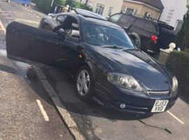 Hyundai Coupe, 2003 (53) Black Coupe, Manual Petrol, 91,000 miles