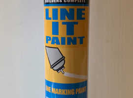 Bond It Line Marker Paint White 750ml