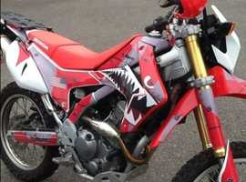Honda CRF250L 305cc Takegawa big bore.