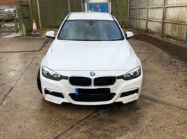 BMW 3 Series, 2013 (13) White Estate, Manual Diesel, 93,000 miles