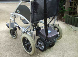 Wheelchair with a TGA duo powerpack