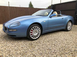 Maserati Spyder  (02) Azzuro Blue Convertible, Manual Petrol, 73,000 miles Stunning Condition