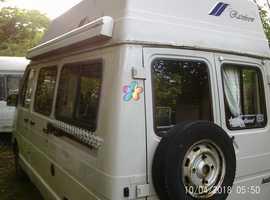 renault trafic holdsworth rainbow 2 birth camper van. l reg 1994.