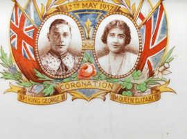 Coronation plate 1937