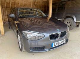 BMW 1 series, 2011 (61) Grey Hatchback, Manual Diesel, 103,000 miles