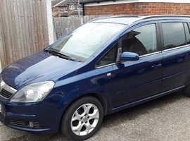 Vauxhall Zafira 7 seats long mot drives fine