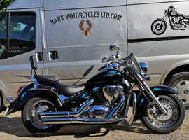 STUNNING 2013 SUZUKI INTRUDER VL800 C800, ONLY 4786 MILES, 2 PREVIOUS OWNERS.FSH