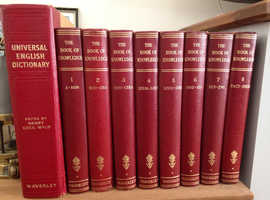 The Book of Knowledge ( 8 volume collector's set )
