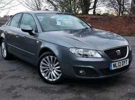 Seat Exeo Se Tech 2.0 Diesel 2012 Fully Loaded *1 Year Warranty* 73k Same Audi A4