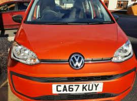 Volkswagen Up, 2017 1 litre 2 days short of 2018