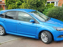 Ford Focus Zetec S, 1.8 L petrol, manual, 5 door hatchback, 2009 (June)