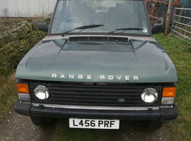 Land Rover RANGEROVER VOGUE TDI, 1993 (L) Silver Estate, Manual Diesel, 175,000 miles