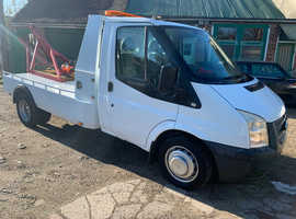 FORD TRANSIT 2013 RECOVERY ELECTRIC HARVEY FROST TRUCK CRANE