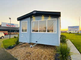 Double glazed & central heated static caravan for sale!