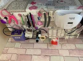 Acrylic/gel polish nail kit