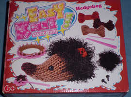 'Hedgehog' Easy Knit Wool Toy (new)
