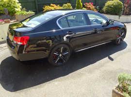 Lexus Gs, 2008 (08) Black Saloon, Cvt , Auto  113,640 miles