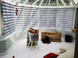 Blinds, curtains, shutters and awnings