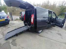 Wheelchair Access Peugeot Expert WAV mobility car for sale, 2012/12, 48000 miles, history, air con, 4 seats , Free UK delivery