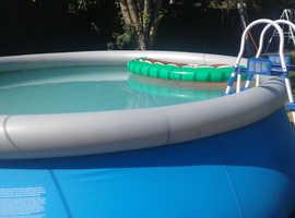 15 foot bestway  swimming pool