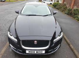 Jaguar Xj, 2013 (63) Black Saloon, Automatic Diesel, 53,654 miles