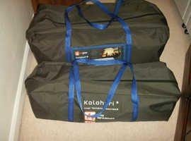 HI GEAR KALAHARI 8 TENT +GROUNDSHEET NEVER BEEN OPENED  £275